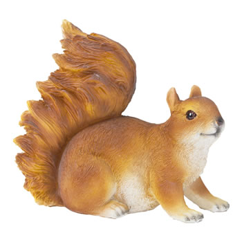 Image of Realistic Red Squirrel Garden Animal Ornament