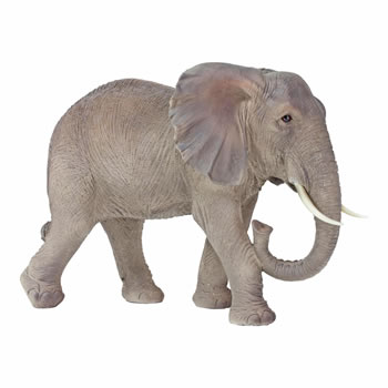 Image of Lenny the Large Realistic Elephant Garden Ornament