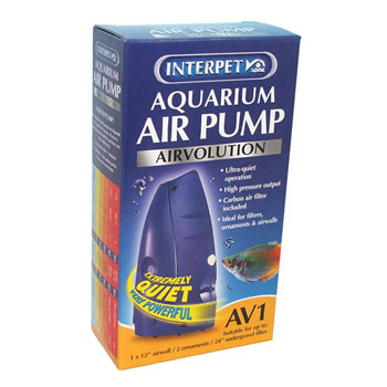Image of Interpet AirVolution AV1 Aquarium Air Pump