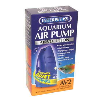 Image of Interpet AirVolution AV2 Aquarium Air Pump