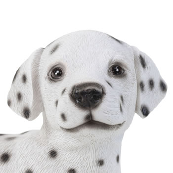 Extra image of Realistic 16cm Standing Dalmatian Puppy Dog Statue Ornament