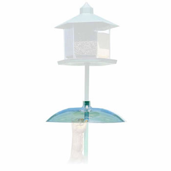 Image of Perky Pet Transparent Squirrel Baffler for Bird Feeders