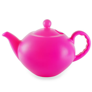 Image of Large Bright Pink Teapot 7.5L Garden Watering Can
