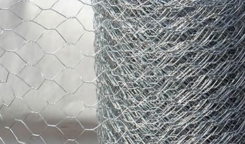 Image of 50m roll of 1.5m tall (5ft) extra strong heavy duty wire mesh - 25mm