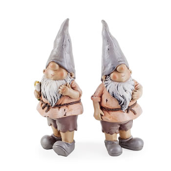 Image of Rowan & Brody the Garden Loving Gnome Ornament Set