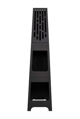 Image of Oxford Barbecues Contemporary Steel Holton Chiminea Patio Heater