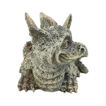 Extra image of Stone Look Polyresin Dragon Gargoyle Garden Statue Ornament