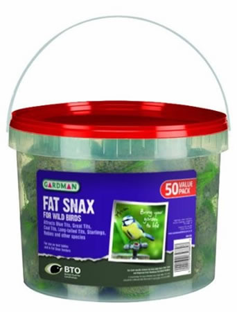 Image of Gardman Fat Snax Tub (Pack of 50)