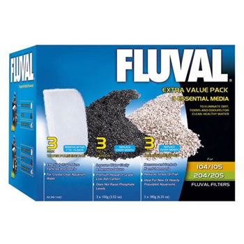 Image of Fluval Extra Value Media Pack 104/105/106/204/205/206