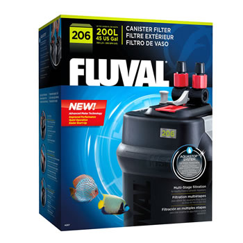 Image of Fluval 206 External Aquarium Filter