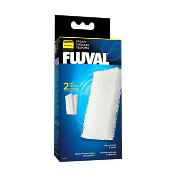 Image of Fluval 104/105/106 Foam Filter Block (2pcs)