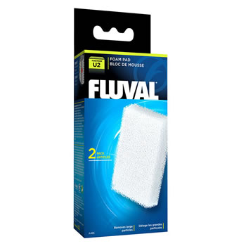 Image of Fluval U2 Filter Foam Pad (2pcs)