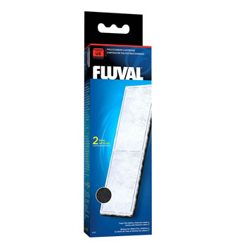 Image of Fluval U3 Poly/Carbon Cartridge (2pcs)