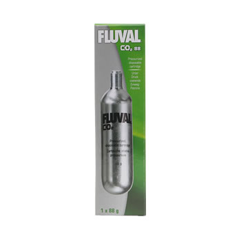 Image of Fluval Pressurised Disposable CO2 Cartridge 88g