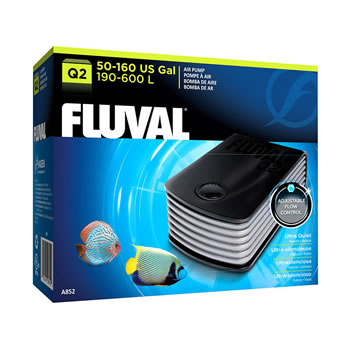 Image of Fluval Q2 Aquarium Air Pump