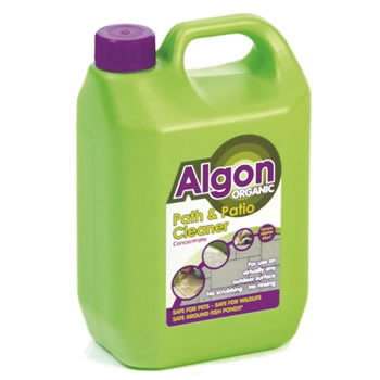 Image of Algon Organic Path Patio and Decking Cleaner Concentrate 2.5L