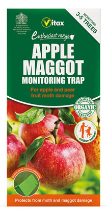 Image of Vitax Apple Maggot Monitoring Trap Protects Against Apple Moths