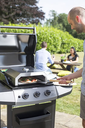 Extra image of La Hacienda Firebox BBQ Pizza Oven