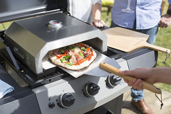 Image of La Hacienda Firebox BBQ Pizza Oven