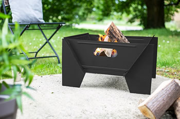 Image of Buckland Black Fire Pit by Oxford Barbecues