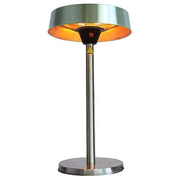 Image of La Hacienda Silver Series Table Top Halogen Heater