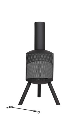 Image of La Hacienda Steel Mesh Body Chiminea