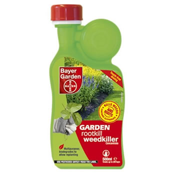 Image of Bayer Garden Rootkill Weedkiller Concentrate 1L (80849710)