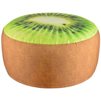 Image of Fallen Fruits Outdoor Kiwi Pouffe (BK012)