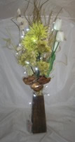 Small Image of Green Bouquet in Vase