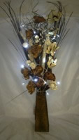 Small Image of Brown & Cream Bouquet