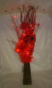 Image of Red Protea Bouquet