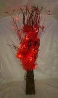 Small Image of Red Protea Bouquet