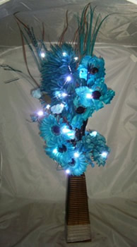 Image of Teal Bouquet