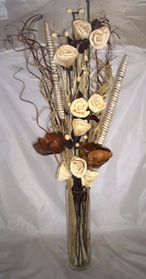 Image of Natural & Cream bouquet