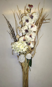Image of Cream Orchid Bouquet