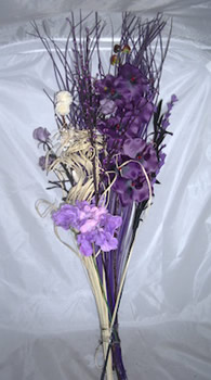 Image of Purple Orchid Bouquet