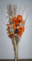 Small Image of Sunset Orange Poppy Bouquet