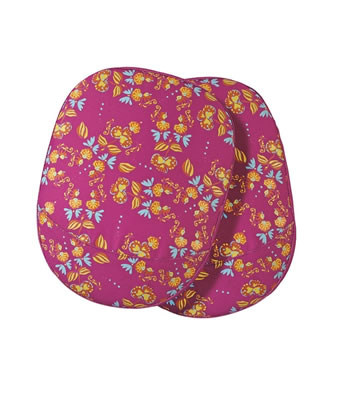 Image of Briers Oriental Floral Knee Pads Bright Pink Garden Outdoors Gift