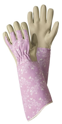 Image of Briers Birds and Branches Gauntlet Gloves Garden Outdoors