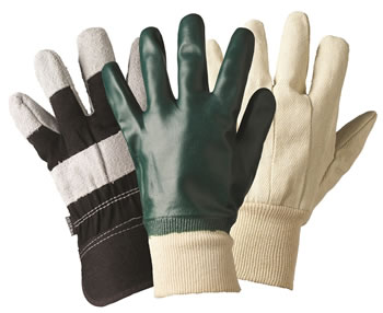 Image of Briers Mens Mixed Triple Pack Gardening Gloves