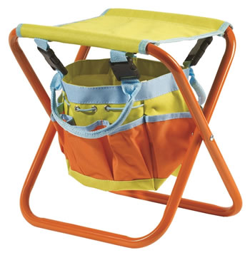 Image of Briers Children's Garden Tool Bag Seat Storage Gardening