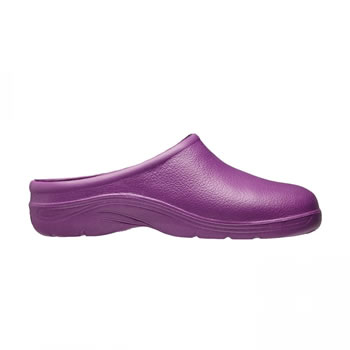 Image of Briers Lavender Lightweight and Slip-Resistant Clogs (UK Size 6)