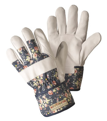 Image of Briers Ladies Flower Girl Rigger Gloves Gardening Outdoors Floral