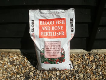 Image of 20kg sack of Proctors Blood, Fish and Bone 100% Organic Fertiliser