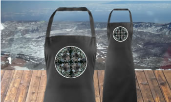Image of Black Mountain Flowers Adults  Apron