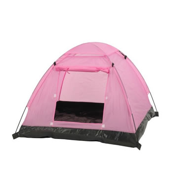 Image of Camelot Pink Kids Childrens Play Tent (CAM0369)
