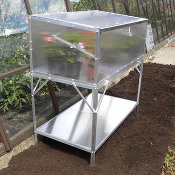 Image of Single Tier Bench for Modular Cold Frame