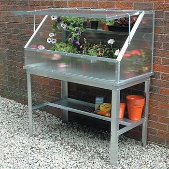 Image of Easy Access Cold Frame and Bench
