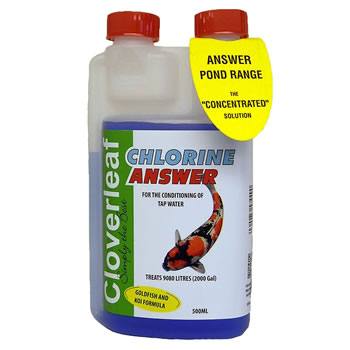 Image of Cloverleaf Chlorine Answer 500ML