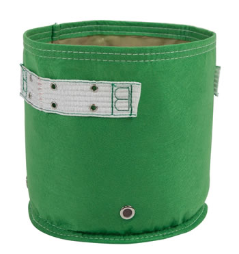 Image of BloemBagz 11l Green Fabric Planter Growbag Air Pruning Vegetables